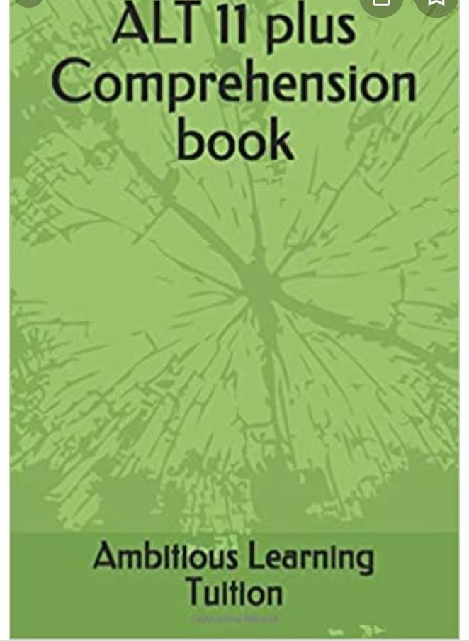 ALT comprehension book with answers